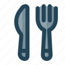 eat, fork, knife icon