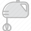 cooking, food, kitchen, mixer icon