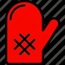 cooking, food, glove, kitchen icon