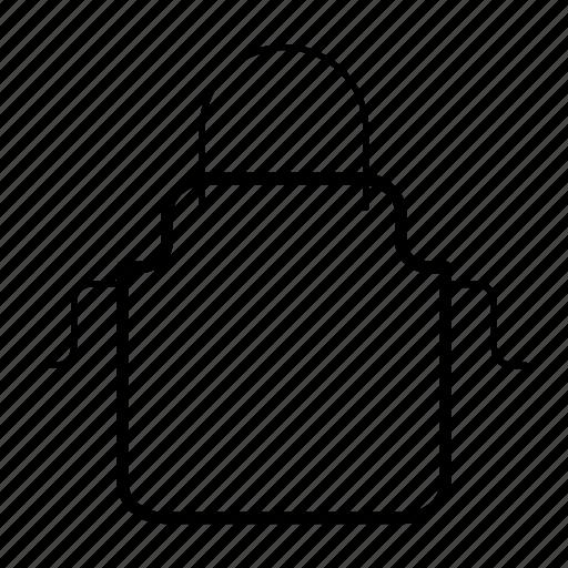 apron, clothing, cook, cooking, kitchen apron icon