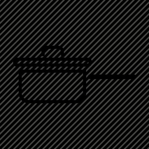frying, frying pan, lid, pan, pan lid icon