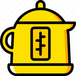 boiling, cooking, food, kitchen, pot icon