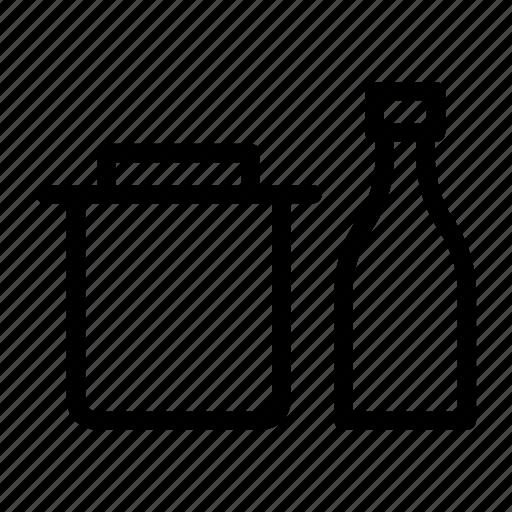 beer, bottle, drink, jar, wine icon