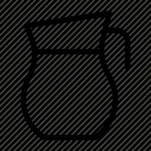 Equa, water, drink, jar, jug icon