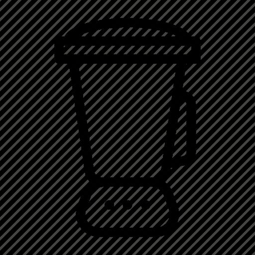 blender, jug, juicer, kitchen, machine icon