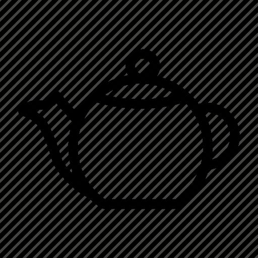 Tea, coffee, kattle, teapot, kitchen icon