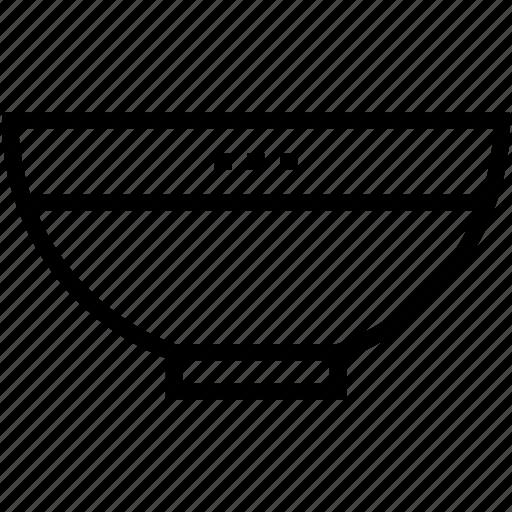 bowl, crockery, food bowl, meal, soup icon