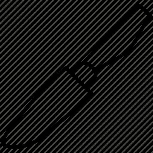 blade, cut, knife, utensil icon