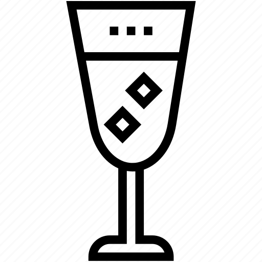 cold drink, drink, glass, juice, soft drink icon