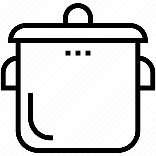 cooker, cooking pan, cookware, pressure cooker, saucepan icon