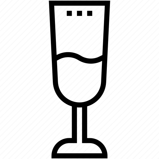 alcohol, champagne flute, champagne glass, drink, wine glass icon