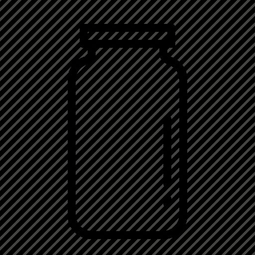bottle, jar, kitchen, pickle, store, vessel icon