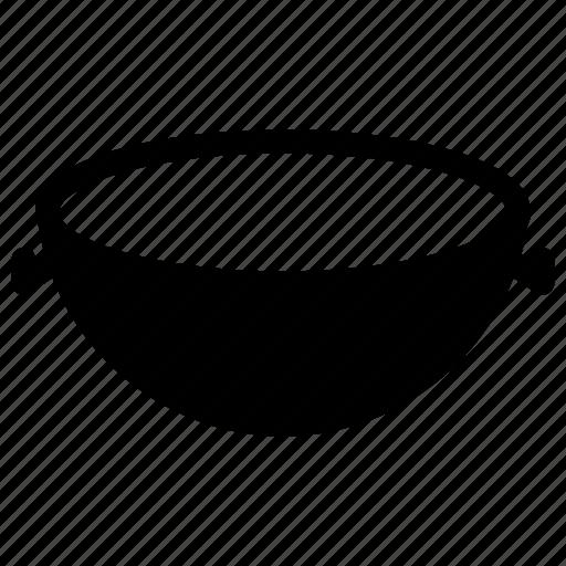 kitchen, pan, utensil, vessel, wok icon