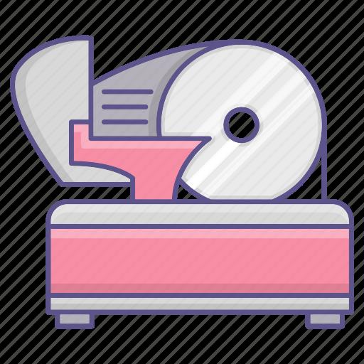 appliance, equipment, meat, restaurant, slicer icon