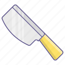 butcher, halloween, knife icon