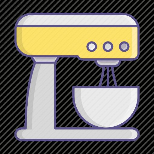 kitchen, mixer, standkitchenware, tool icon