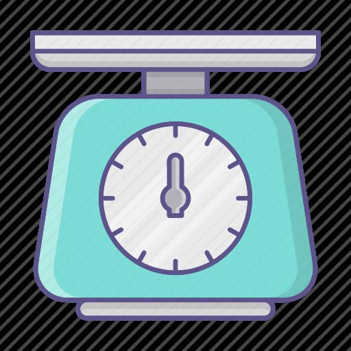 balance, kitchen, tool, weight icon