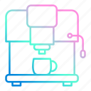coffee, cup, drink, machine, maker icon
