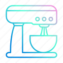 appliance, kitchen, mixer, standkitchenware icon