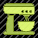 appliance, household, kitchen, kitchenware, mixer icon