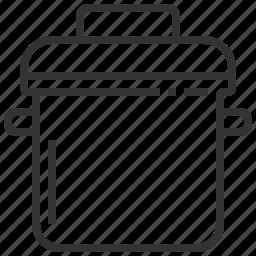 cook, kitchen, pot, tool icon