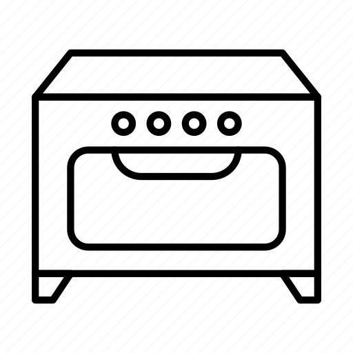 bake, cooking, kitchen, oven, stove icon