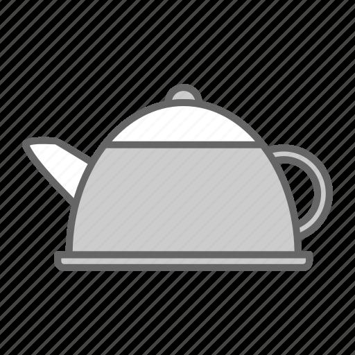 boil, hot, kettle, kitchen, pot, tea, water icon