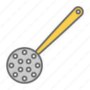 cook, cooking, filter, food, kitchen, strainer, ware icon