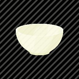bowl, cartoon, ceramic, dish, nutrition, recipe, white icon