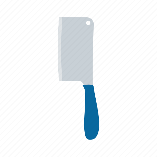 chopping, cleaver, kitchenware, knife, meat, tool icon