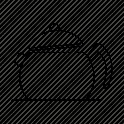 beverage, boiler, coffee, kettle, kitchen, kitchenware, pot icon