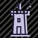 castle, building, copy, tower