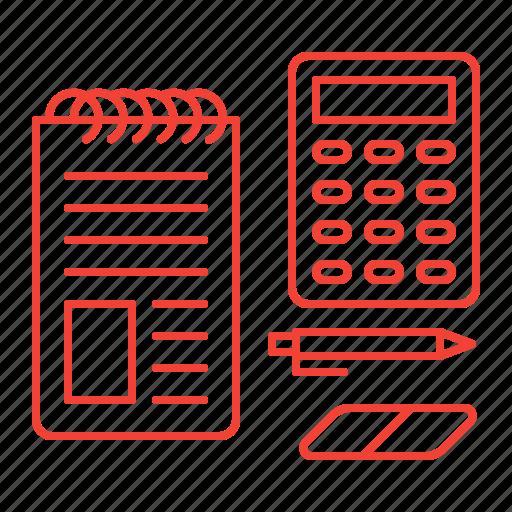 calculate, calculating, calculator icon