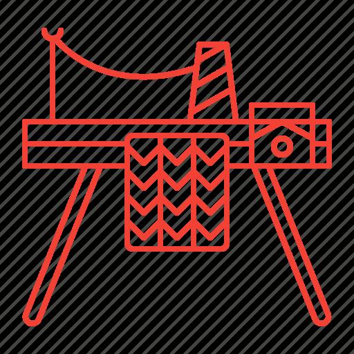 Knitting, machine icon - Icon search engine 'Knitting, Hand Made' by Nadiinko - 웹