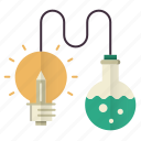 knowledge, lab tube, science, smart, solution icon