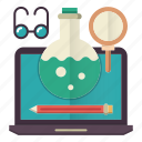 education, knowledge, learning, online, tools icon