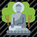 buddha, korea, religion, seoraksan icon