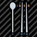 chopstick, food, kitchen, spoon, takeaway