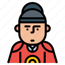 avatar, emperor, korea, korean, traditional icon