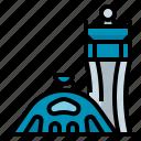 airport, building, flight, incheon, korea