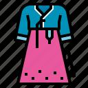 clothing, dress, hanbok, korea, korean