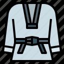 cloth, karate, korea, sport, taekwondo