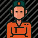 avatar, costume, female, korea, south, traditional, woman