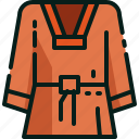 cloth, korea, south, sport, taekwondo, wear icon