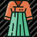 clothing, costume, dress, female, korea, south, tradition
