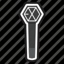 accessories, boyband, exo, keychain, korea, kpop, lightstick icon