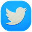 social, tweet, twitter, update icon