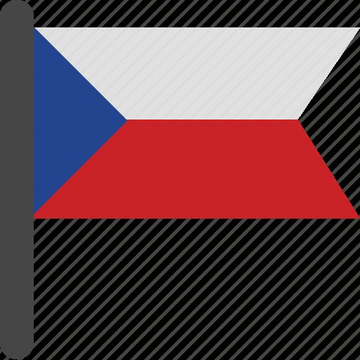 czech, czech flag, flag icon