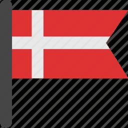 denmark, denmark flag, flag icon