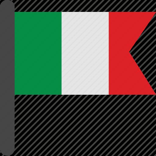 flag, italy, italy flag icon